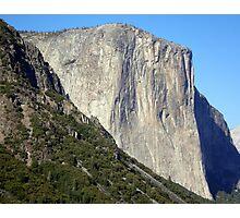 Sheer Rock Face of El Capitan  Photographic Print
