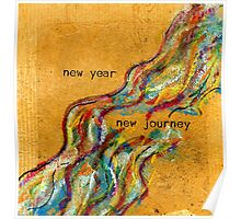 New Year / New Journey Poster