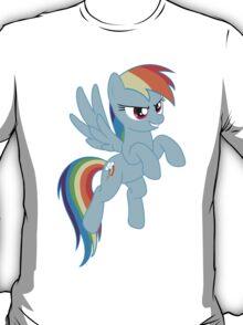 Rainbow Dash flying T-Shirt