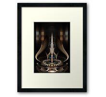 Sword Of Light II Framed Print