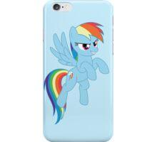 Rainbow Dash flying iPhone Case/Skin