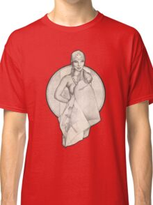 Retro Canada Day Pinup Girl T-Shirts and Hoodies Classic T-Shirt