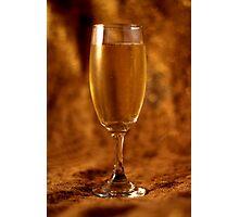 Still Life - Champagne & Gold Photographic Print