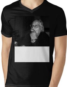 portrait3 Mens V-Neck T-Shirt