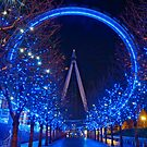 Xmas London Eye 2012 by karlwilsonphoto
