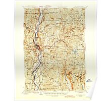 USGS TOPO Map New Hampshire NH Bellows Falls 329942 1930 62500 Poster