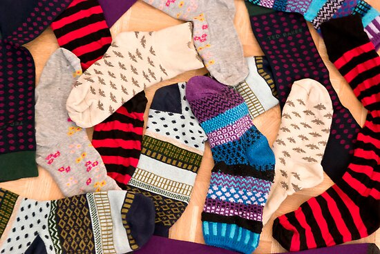 Christmas Socks by Sue Knowles