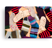 Christmas Socks Canvas Print
