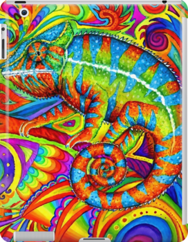Psychedelizard by Rebecca Wang