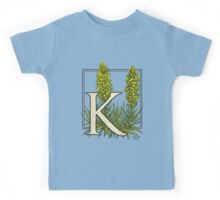 K is for King's Spear Kids Tee
