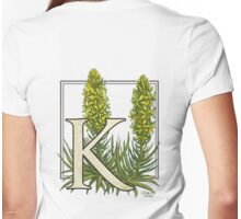 K is for King's Spear Womens Fitted T-Shirt