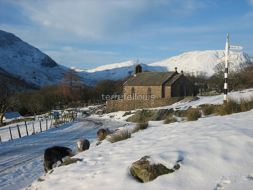 """"""" St. James' Church Buttermere """" by terryfellows"""