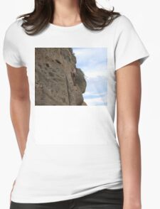 Face the rock_2 Womens Fitted T-Shirt