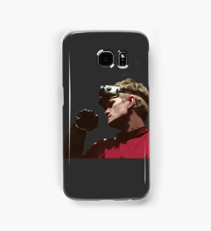 Dr. Horrible - Red Coat Samsung Galaxy Case/Skin