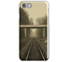 Take a look, Take a good long look and tell me what you see..Through time passing...Time after time...We stand and watch it fade away iPhone Case/Skin