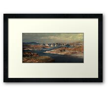 """Lake Powell"" Framed Print"