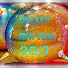 Happy New Year by Linda Miller Gesualdo