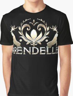 Arendelle Crocus - Golden Metal Design  Graphic T-Shirt