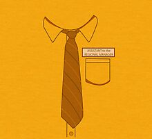 Dwight Schrute's Shirt by Rakouzid