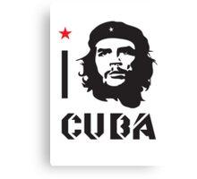 I LOVE CUBA T-shirt Canvas Print