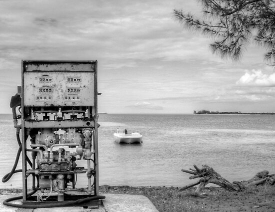 Gas Service in North Andros Island, The Bahamas by 242Digital