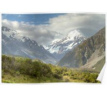 Mount Cook, South Island, New Zealand Poster