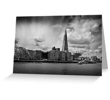 The Thames, The Shard and City Hall Greeting Card