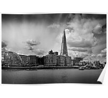 The Thames, The Shard and City Hall Poster