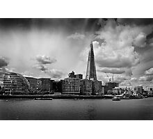 The Thames, The Shard and City Hall Photographic Print