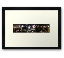 A Swede's view of 2012 New Year's Eve Framed Print