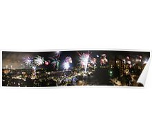 A Swede's view of 2012 New Year's Eve Poster