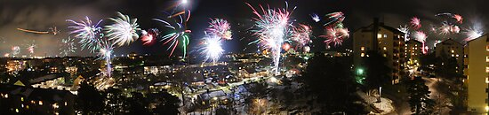 A Swede's view of 2012 New Year's Eve by Sanna Dullaway