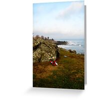 New Hampshire Atlantic Coast  Greeting Card