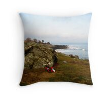 New Hampshire Atlantic Coast  Throw Pillow