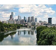 Philly Skyline Photographic Print