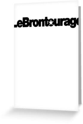 LeBrontourage│Black by JoeIbraham