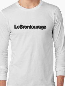 LeBrontourage│Black Long Sleeve T-Shirt