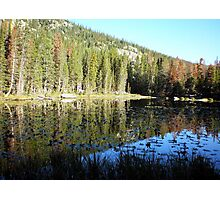 Mirror Lake at Rocky Mountain National Park Photographic Print