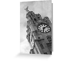 The Liver Building, Liverpool Greeting Card