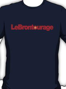 LeBrontourage│Red & Gold T-Shirt