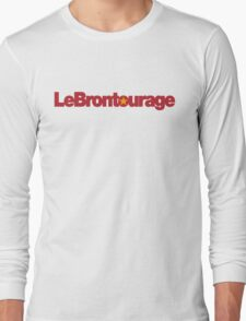 LeBrontourage│Red & Gold Long Sleeve T-Shirt