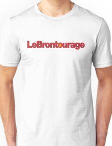 LeBrontourage│Red & Gold Unisex T-Shirt