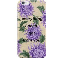 I Want to Write You A Song One Direction iPhone Case/Skin