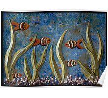 Tranquil Aquarium Poster