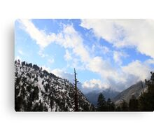 Icehouse Canyon Canvas Print