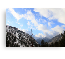 Icehouse Canyon Canvas Print