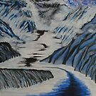 Glacial Valley by George Hunter