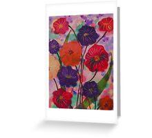 Mixed Blooms Greeting Card