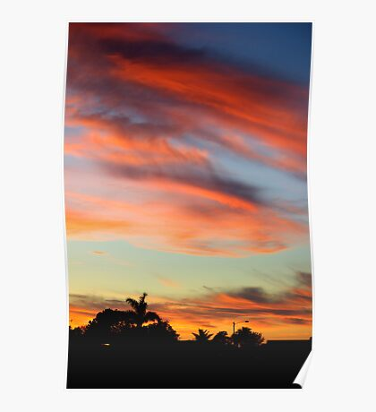 Cape Coral Sunset Poster