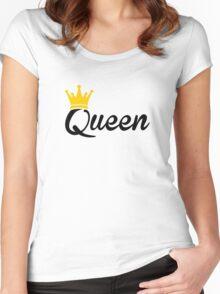 Queen Women's Fitted Scoop T-Shirt